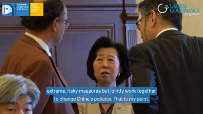 Screenshot from a short video on EU_Asia economics research activities