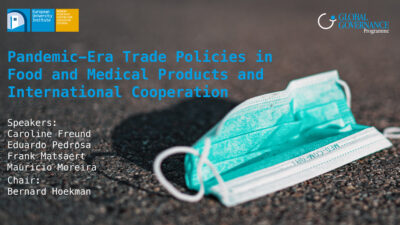 Pandemic-Era Trade Policies in Food and Medical Products and International Cooperation visual