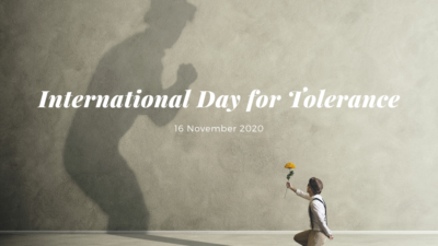 Permalink to:International Day for Tolerance 2020