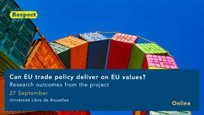 Permalink to:Can EU trade policy deliver on EU values?